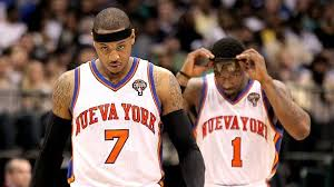 Amar'e was forced to take a back seat to Melo