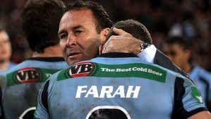 Stuart did a lot of consoling in his time as NSW origin coach