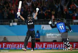 Grant Elliot took NZ to it's first World Cup Final