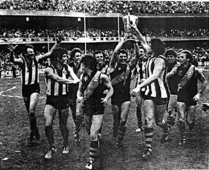 The victorious 1980 Richmond Tigers.