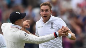Broad bowled well, but even he was surprised by the Australian's ineptitude .