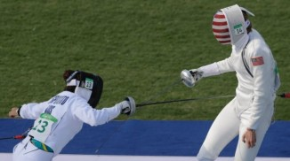 thumbnail_A fencing point for Esposito