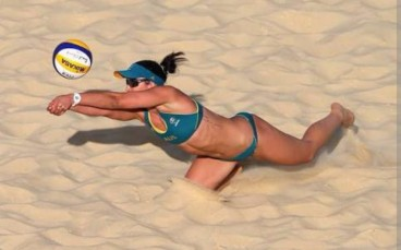 thumbnail_Beach volleyball is a sport