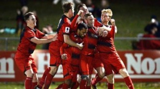 thumbnail_Redlands celebrate the FFA Cup%27s biggest upset