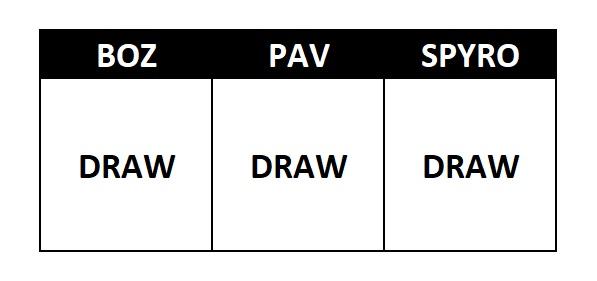 All Draw Picks