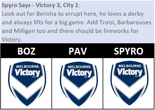 City Roar Picks