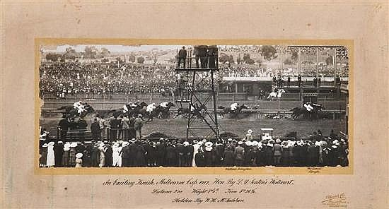 Westcourt wins 1917 Melbourne Cup