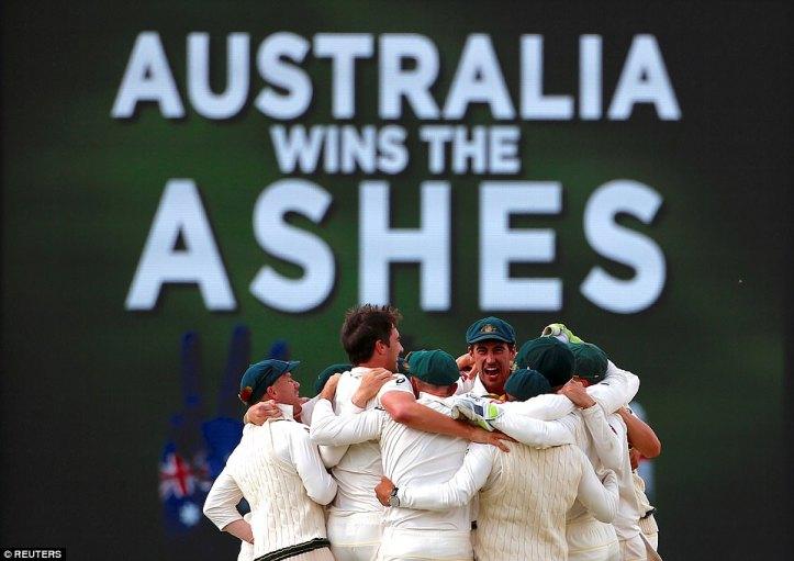 Australia regain the ashes