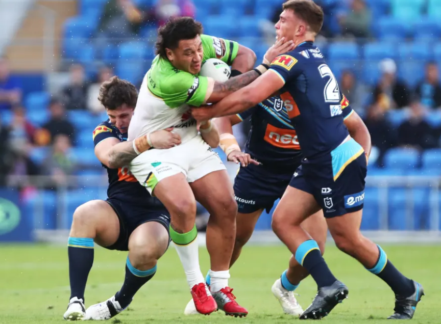 Josh Papalii is a rugby league hero